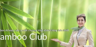Bamboo Airways sắp ra mắt chương trình khách hàng thân thiết