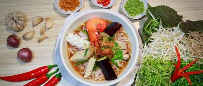 Bún mắm món ăn được yêu thích của người dân Sài Gòn