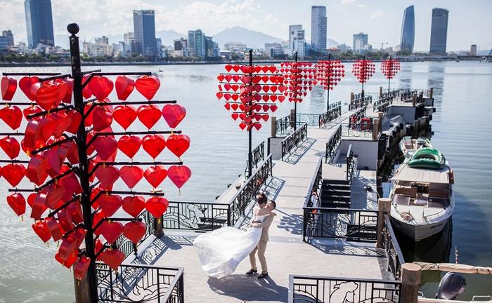 Cầu tình yêu tại Đà Nẵng