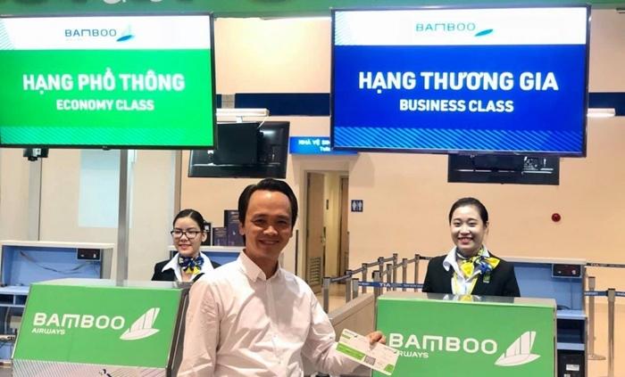 Chuyến bay đầu tiên của Bamboo Airways