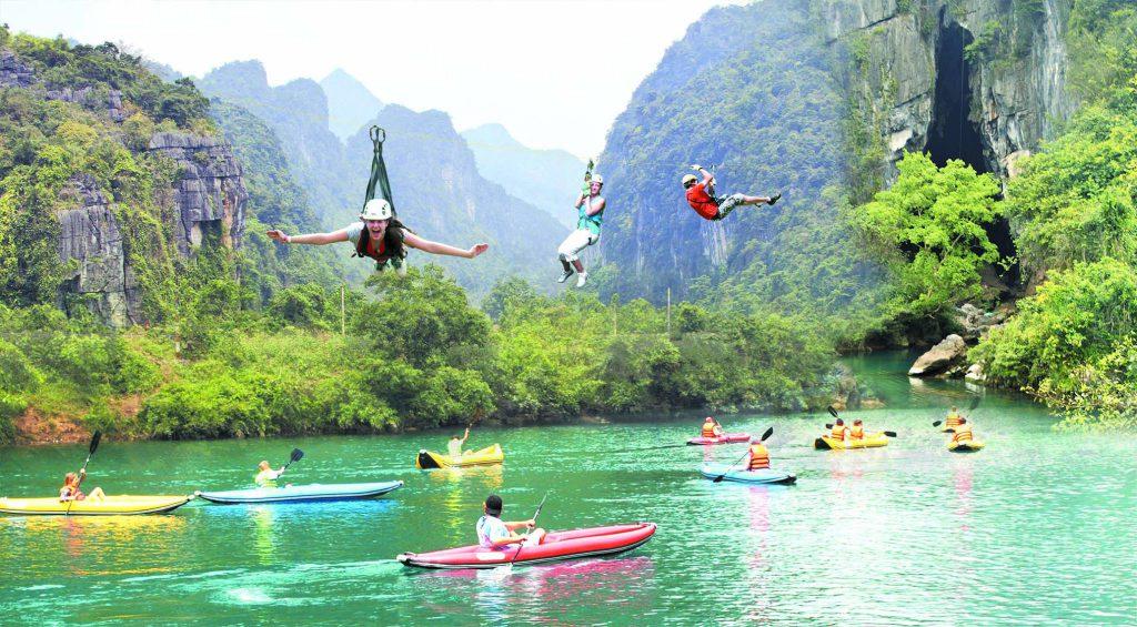 Hòa mình vào các hoạt động hè đầy sôi nổi tại Quảng Bình
