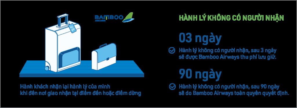 Bamboo Airways sẽ lưu giữ hành lý không có người nhận 90 ngày