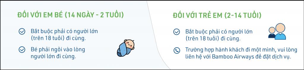 Vận chuyển trẻ nhỏ và trẻ sơ sinh trên máy bay
