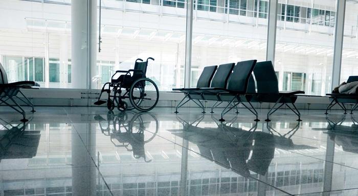 Hành lý đặc biệt như xe lăn được vận chuyển miễn phí