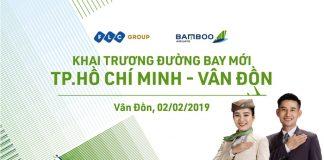 Bamboo Airways khai thác đường bay mới Hồ Chí Minh – Vân Đồn