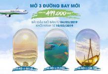 Bamboo Airways mở bán vé 3 đường bay mới chỉ 499.000 đồng