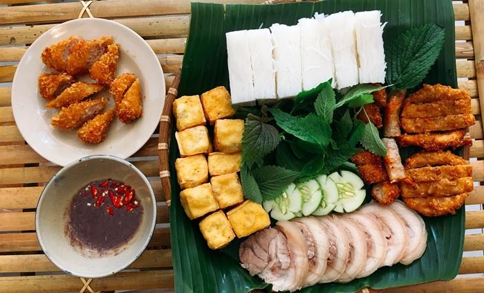 Bún đậu mắm tôm - món ăn dân dã Hà Thành