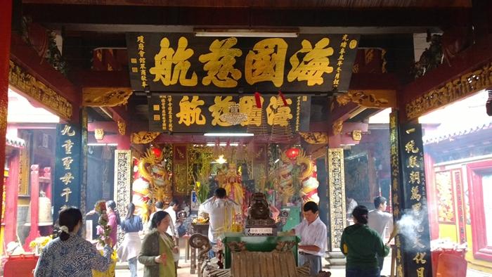 Tham quan ngôi chùa cổ của người Hoa ở TP. Hồ Chí Minh