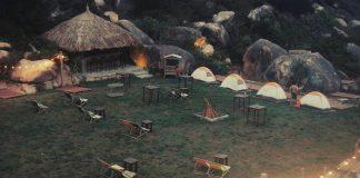 Cắm trại dã ngoại ở Trung Lương