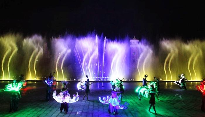 Buổi tối ở Nha Trang đến Vinpearl Land xem nhạc nước