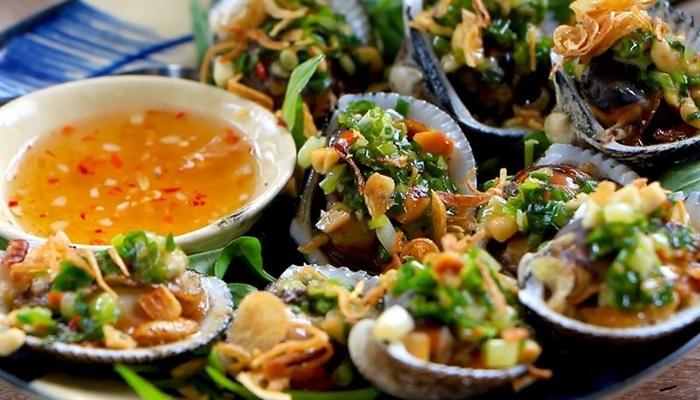 Hải sản nướng tại Nha Trang