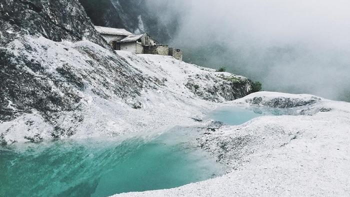Mùa đông tại đèo Thung Khe, Mai Châu