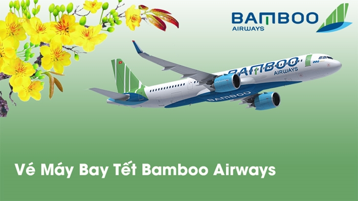 Đặt vé máy bay Tết Bamboo Airways Vivu đặc lộc