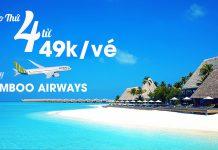 Bay vô tư cùng Bamboo Airways khuyến mãi chỉ từ 49.000 VND