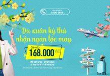 Khuyến mãi du xuân cùng Bamboo Airways nhận ngàn lộc may