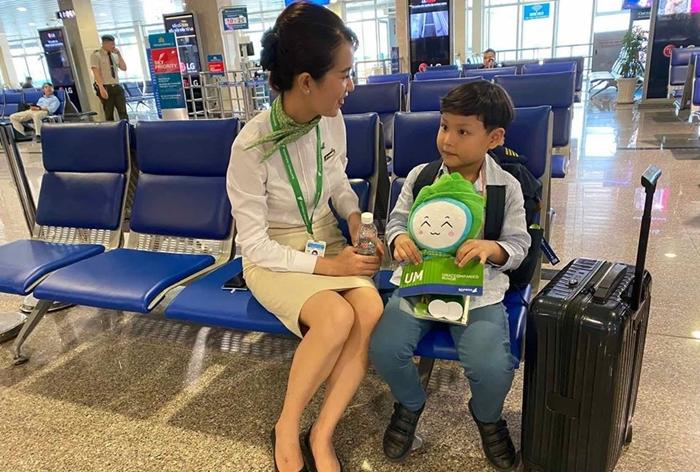 Dịch vụ trẻ em đi một mình của Bamboo Airways