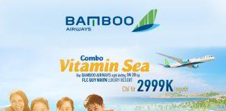 Săn combo khuyến mãi bay Bamboo Airways thảnh thơi nghỉ dưỡng