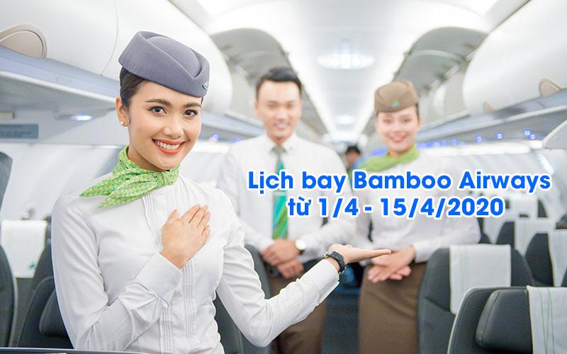Bamboo Airways thay đổi lịch khai thác do ảnh hưởng Covid – 19