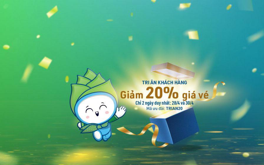 Đại tiệc tri ân từ Bamboo Airways giảm 20% giá vé