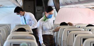 "Bay an toàn cùng Bamboo Airways "" mua 1 ghế bao trọn 2 ghế"""