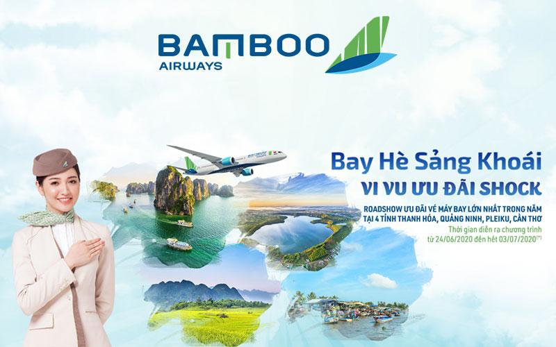 Bay hè sảng khoái cùng Bamboo Airways vé máy bay chỉ 0 đồng