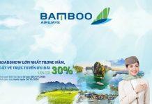 Khuyến mãi giảm 30% vé máy bay từ Bamboo Airways