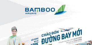 Bamboo Airways mở bán đường bay mới chỉ từ 99.000 VND