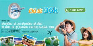 Mừng đường bay mới Bamboo Airways khuyến mãi chỉ từ 36.000 VND