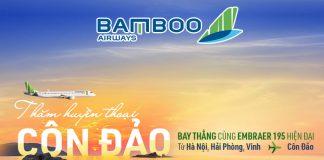 Lịch bay Bamboo Airways đi Côn Đảo từ Hà Nội/ Hải Phòng/ Vinh
