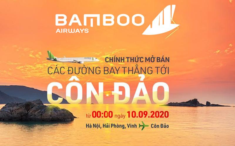 Bamboo Airways chính thức mở bán 3 đường bay đến Côn Đảo