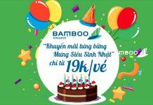 Mừng sinh nhật FLC Bamboo Airways khuyến mãi chỉ từ 19.000 VND