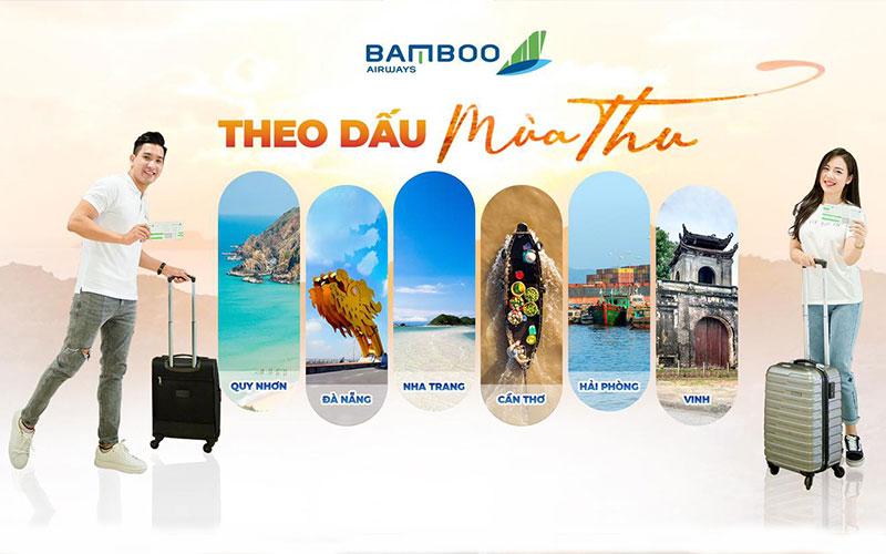 Bamboo Airways mở lại 1 loạt đường bay Hot