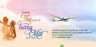"""Khuyến mãi """"Thu quyến rũ"""" và """"Trăng mật ngọt ngào"""" từ Bamboo Airways"""