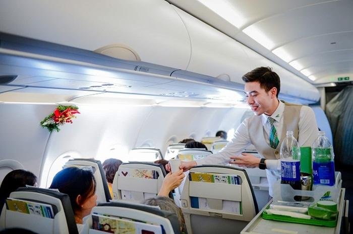 Bamboo Airways khuyến mãi mừng Giáng Sinh tặng 25% giá vé