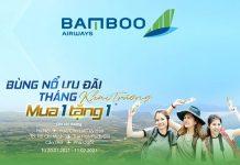 Bamboo Airways mở đường bay mới khuyến mãi mua 1 tặng 1