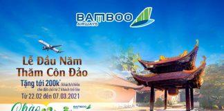Bamboo Airways khuyến mãi đầu năm thăm Côn Đảo giảm tới 200.000 VND
