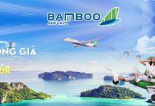 Bamboo Airways khuyến mãi mừng ngày 8/3 đồng giá thả ga