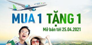 Khuyến mãi mua vé chiều đi tặng vé chiều về từ Bamboo Airways