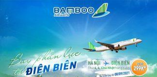 Bamboo Airways khai thác đường bay thẳng Hà Nội – Điện Biên