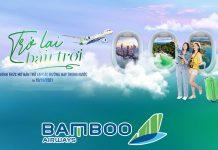 Bamboo Airways chính thức khai thác trở lại đường bay nội địa